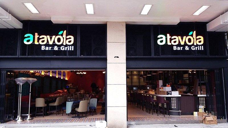 A Tavola Bar & Grill in Hong Kong- the exterior image