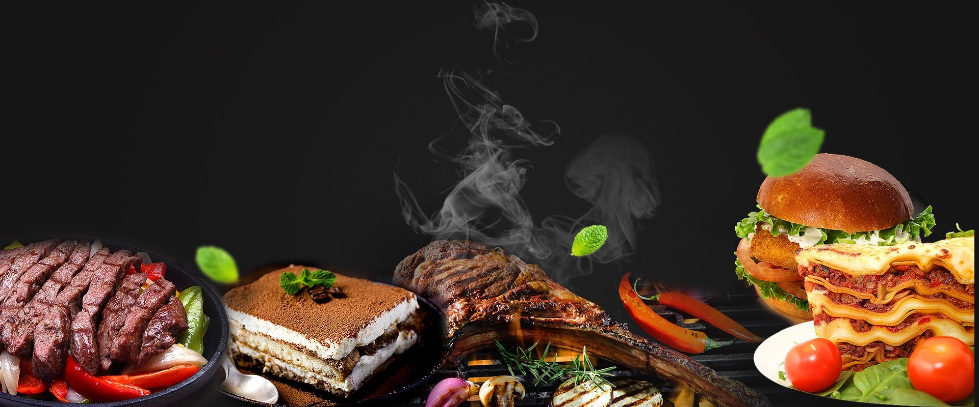 Grilled foods and sandwiches- A Tavola restaurant