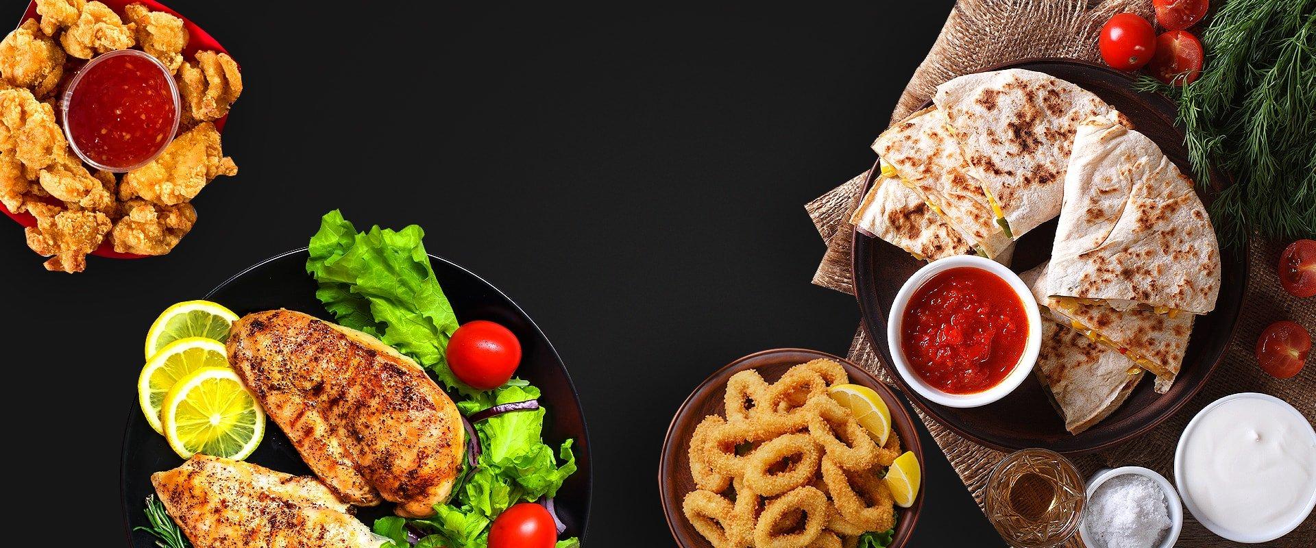 Starter food items by A Tavola Bar & Grill