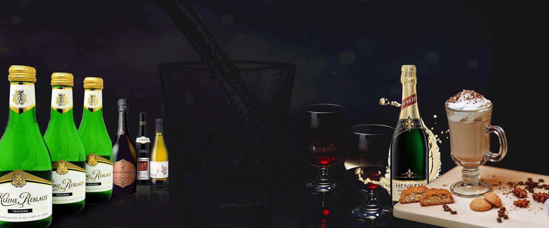 Wines & Champagne at A Tavola Bar & Grill in Hong Kong